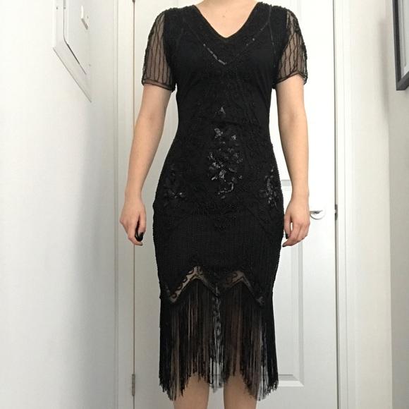 Dresses & Skirts - Sequin flapper dress!